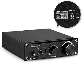 Nobsound G2 Pro Subwoofer Amplifier Mono Power Amp, PBTL/BTL Bridge, 300W Mini Sub Amp Home Theater