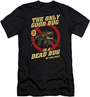 Starship Troopers Dead Bug Unisex Adult Canvas Brand T Shirt for Men and Women