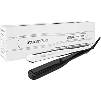 L'Oréal Professionnel - Steampod 3.0, Plancha de Pelo de Vapor Profesional, Cabello Liso y Ondas