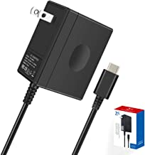 Switch Charger for Nintendo Switch/Pro Controller/Switch Dock with 5ft Type C Cable,Support TV Mode,2.5 Hours Fast Travel Wall Charger,15V/2.6A AC Adapter Power Supply