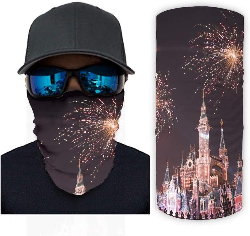 Clubdeer Castle Fireworks Magic Scarf Cheap Wri for Bandanas Men Women New Shipping Free
