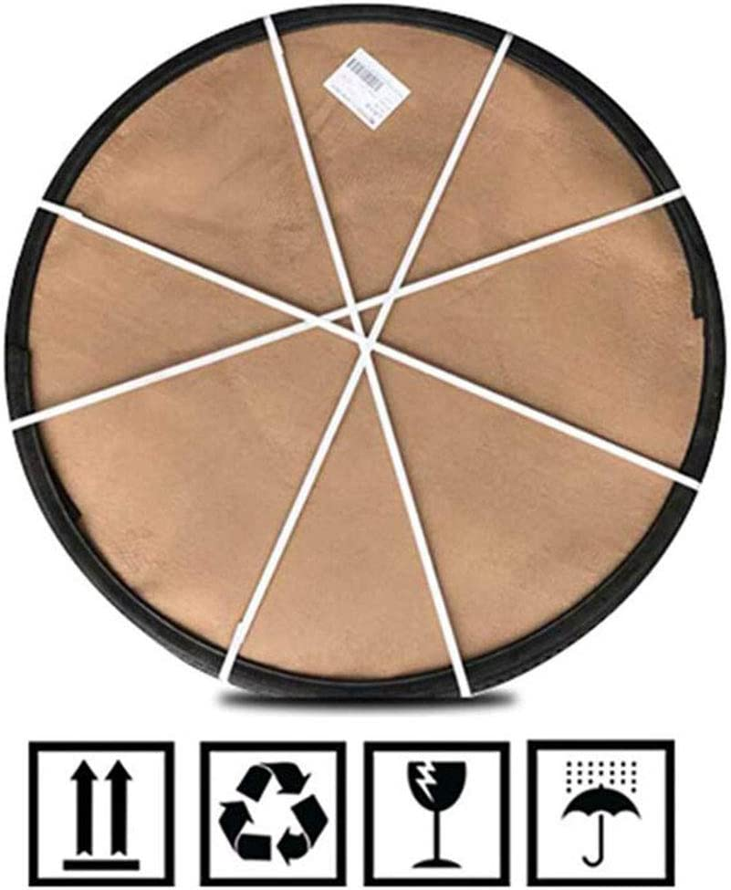 Large Revolving Serving Plate Wooden Lazy Susan Turntable Vintage Design 32//36inch 360/° Rotating Tray for Dining