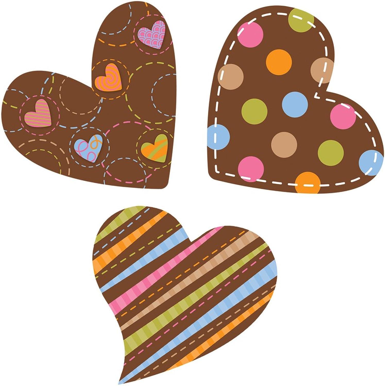 Creative Creative Creative Lehre Press 6 Design-Aussparungen, Dots auf Schokolade Herzen (3881) Punkte und Schokoladenherzen MULTI CHOCOLATE B007DZ1M2A | Praktisch Und Wirtschaftlich  8d8cb5