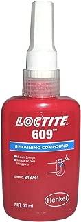 Genuine Henke Loctite 609 X 50ml Retaining Compound, General Purpose, Green Color