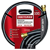 Craftsman Garden Hose 100 ' X 5/8 ' Rubber Premium 500 Psi