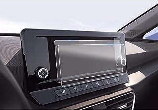resistente a ara/ñazos y antihuellas SHAOAHO Protector de pantalla para navegador de coche para Seat Leon MK4 GPS transparente 2 unidades 4H PET