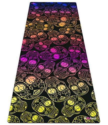 Reetual, The Kundalini Yoga Mat That Adores Sweat, Premium All Purpose Yoga Mat Non Slip Combo 2 in 1 -...