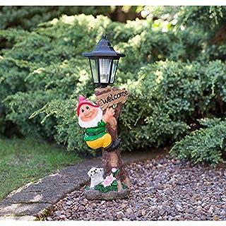 Outdoor Garden Gnome Ornament Statue
