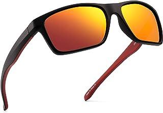 Mengshen/® Fresco de Las Gafas de Sol al Aire Libre Espejo retrovisor retrovisor detr/ás de Anti-Monitor de Seguimiento y Ver como un par de Gafas de Sol ordinaria Negro Borde MS-HC34