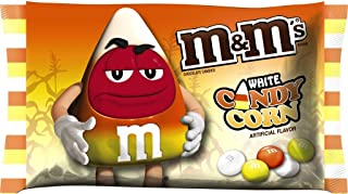M&M's Candy Corn White Chocolate Candies 8 OZ Bag - Pack of 4
