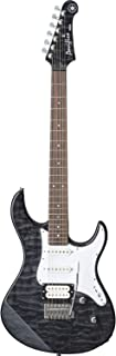 Yamaha PAC212VQM TB Electric Guitar - Quilted Maple Body and Headstock - Translucent Black