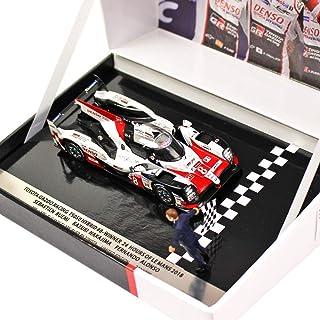Spark 1/43スケール TOYOTA GAZOO Racing TS050 ハイブリット 8号車 中嶋一貴 / アロンソ / ブエミ 2018...