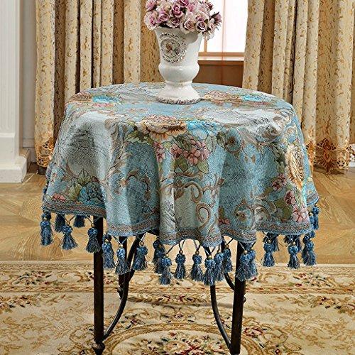 Jacquard Tafelkleden Koffiedeken, doek, handdoek, patroon, strepen, elegant, uitstekende kwaliteit, luxueus romantische kunst esthetiek