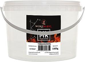 Tarakernmehl, Tara Gum E 417, Peruanisches Johannisbrotkernmehl, pflanzliches Verdickungsmittel. PE - Eimer 1800g. 1,8 KG