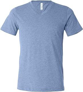 Canvas Triblend Short-Sleeve V-Neck T-Shirt (3415C)