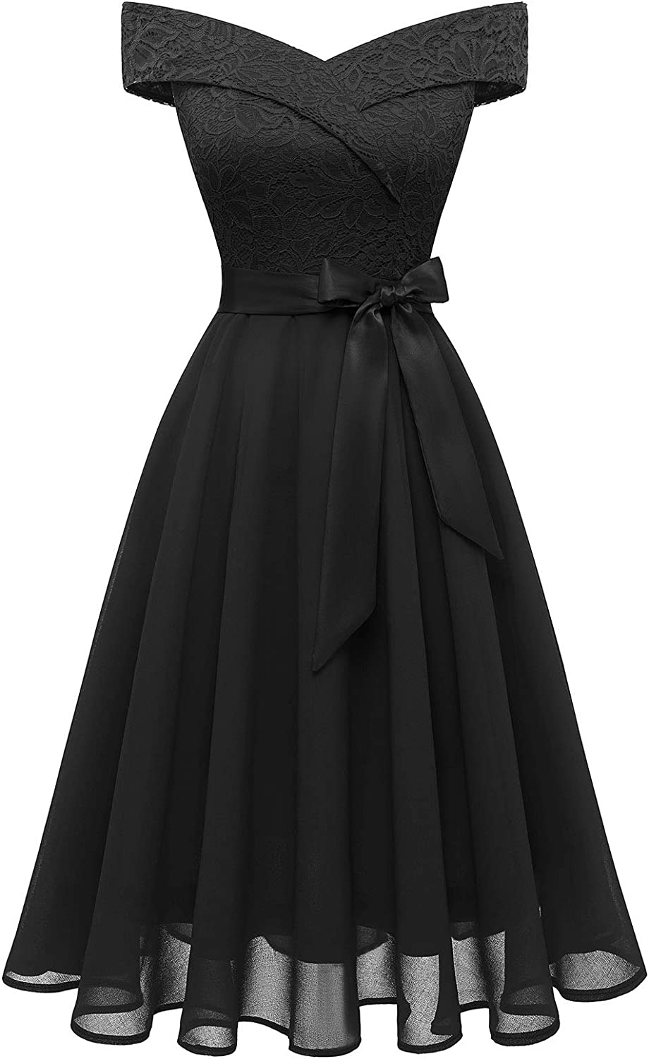 Bbonlinedress Women's Short Lace A-Line Vintage Dress Limited At the price of surprise price Bridesmaid