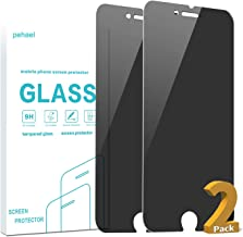 Pehael Screen Protector for Apple iPhone SE 2020 2nd Generation, iPhone 8, iPhone 7 (4.7-inch) Anty- Spy Tempered Glass Film, Easy Install, Case Friendly (2 Packs)