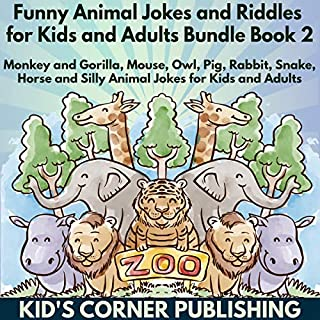 Funny Animal Jokes and Riddles for Kids Bundle, Book 2 cover art
