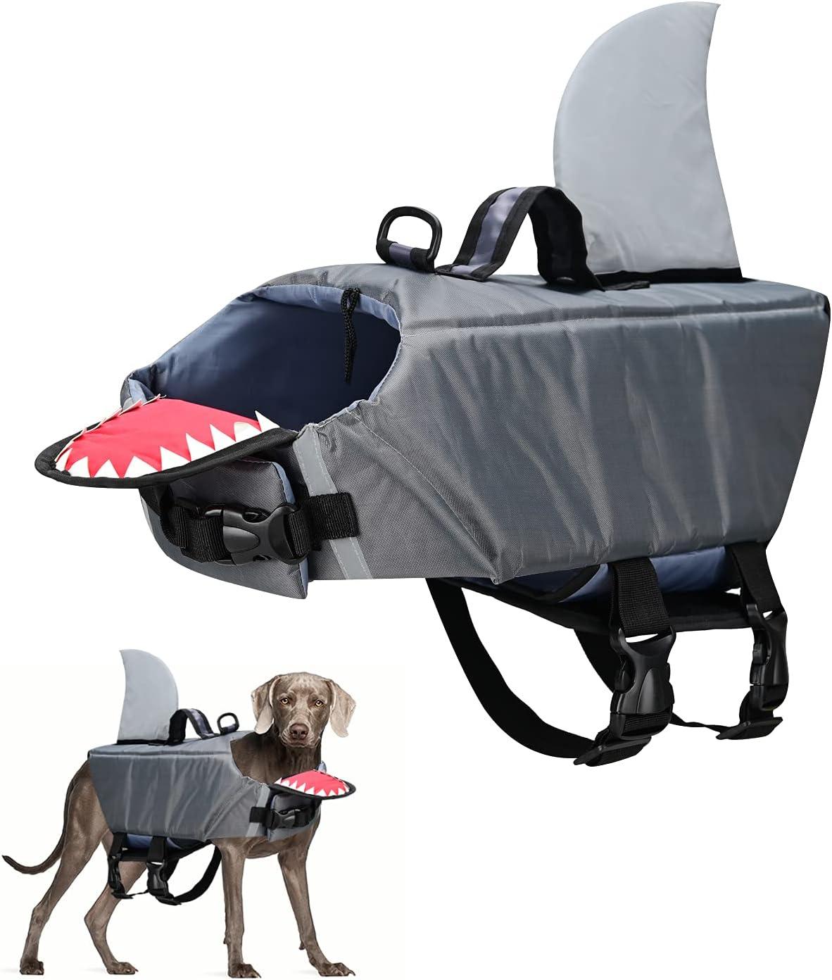 Dog Life Jacket Large special price !! Pet Fashion Safety Lychee Swimsuit Vest Flotat