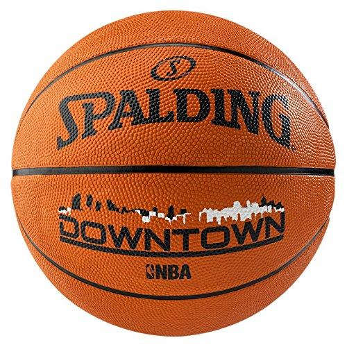 Spalding NBA Downtown Outdoor Sz.7 (83-204Z) Balón de Baloncesto, Unisex, Naranja, 7