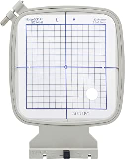 Sew Tech SQ14B Embroidery Hoop for Janome MC 500E 400E 550E Memory Craft Elna Expressive 830 etc, Sewing and Embroidery Ma...