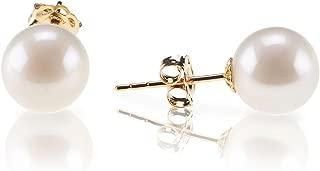 simulated pearl earrings