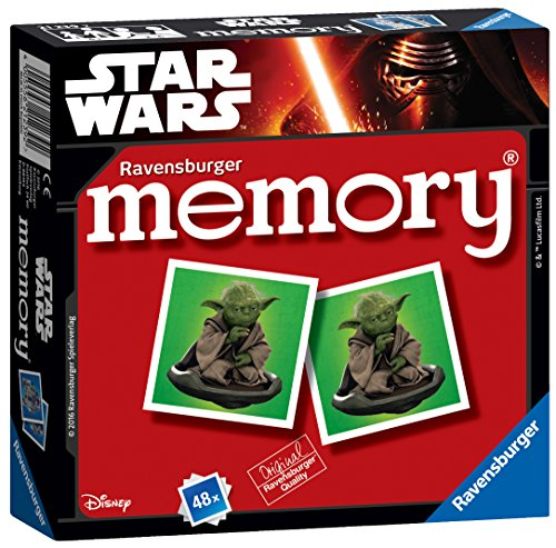 Ravensburger 21239Mini Memory clásico de Star Wars.