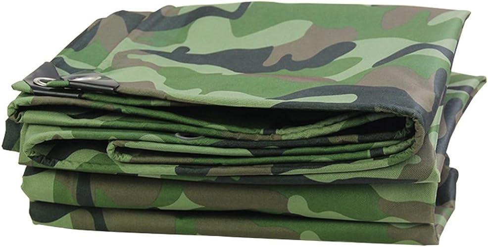 YANG HONG SHOP JL YH Tissu Imperméable Militaire Camouflage Couvre-Sol Imperméable Camouflage Pêche en Camping A+ (Taille   5x7m)