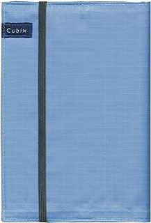 キュービックス ブックカバー 文庫本用 スカイブルー 114010-36