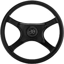 SM SunniMix 13 inch Boat Steering Wheel - Marine Yacht Speedboat Direction Control Wheel Replacement
