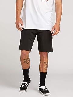 Volcom Stone Lite (Black) Hybrid Shorts
