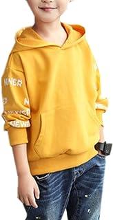 ININUK   男の子 パーカー スウェットパーカー キッズ シンプル 薄手  子供服 パーカー 男の子 トレーナ トップス 長袖 スポーツウェア トレーニングウェア 通学 ファション
