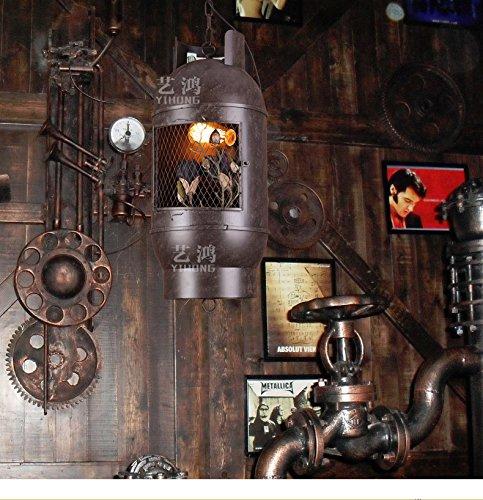 BWLZSP American Industrial Viento nórdico Retro lámparas del Tanque de Gas Bar Bar Restaurante Tienda de Ropa arañas lu127512py