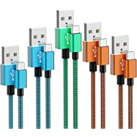 5 Pack XIAE& Type C Charger Nylon Braided Cable Deals