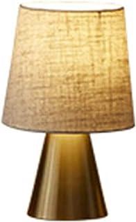 Lampe de Table Petite lampe de table en métal moderne minimaliste luxe chambre lampe de chevet étude de personnalité modèl...