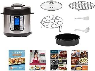 Power Quick Pot - Deluxe Multi-Purpose Pressure Cooker, 8 Quart ((Set Includes - Measuring cup, Ladle, and Condensation Collector Accessories, Bonus Recipe Book & Quick Start Guide))