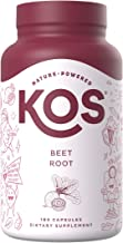 Sponsored Ad - KOS Organic Beet Root Capsules 1500mg - Natural Nitric Oxide Booster Superfood Powder - Supports Healthy Ci...