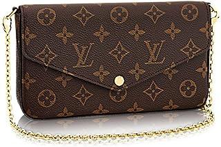 Louis Vuitton Monogram Canvas Felicie Chain Wallet M61276