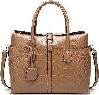 Women's Bag European and American Fashion Crocodile Pattern Handbag Fashion Shoulder Messenger Bag,Brass