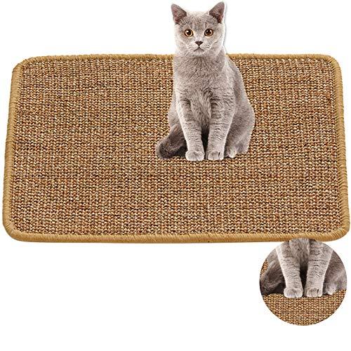 YsinoBear Kratzmatte für Katzen, natürliche Sisal-Matte, Kratzmatte für Katzen,...