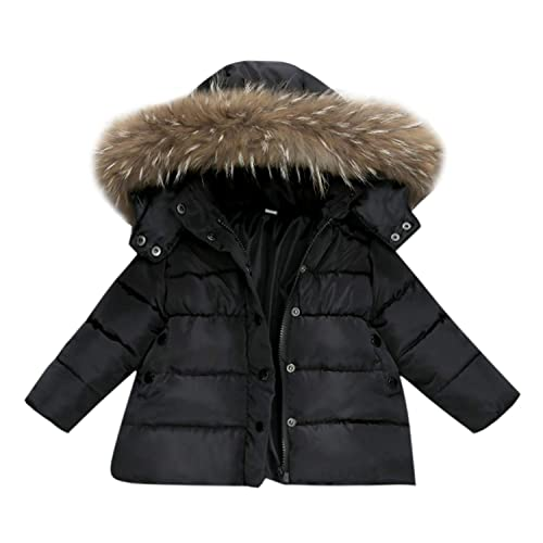 ddb82e0264e78 De feuilles Chic-Chic Kids Baby Boys Winter Hoodie Hooded Puffer Coat Warm  Thicken Down