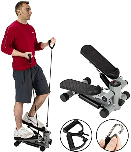 popular Fitness Stair high quality Steppers for Exercise, Mini Elliptical Machines for Home Use with Resistance Bands, Stepper Exercise Equipment, Cubii discount Workout Equipment online
