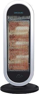 Cecotec Radiador de Cuarzo Ready Warm 7400 Quartz Sky Smart. Mando a Distancia, Digital, Temporizador, 3 Potencias, Oscilación, Rejilla de Seguridad, Sistema Anti vuelco, 1200 W