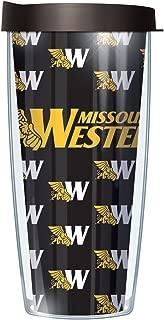 Missouri Western State University Repeat Logo Solid Inside 22 Oz Traveler Tumbler Mug with Lid