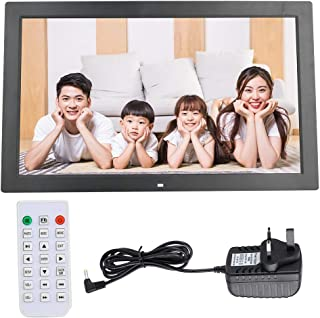 Album, Electronic Electronic Calendar Support MP3/AV/MPG/MP4 Format Electronic Clock Picture Frame Digital for Family and ...