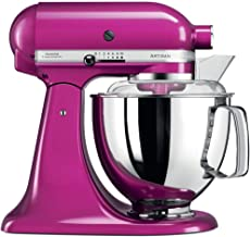 KitchenAid Artisan 4.8L 300W Stand Mixer-Raspberry Ice (Model:5KSM150PSBRI)