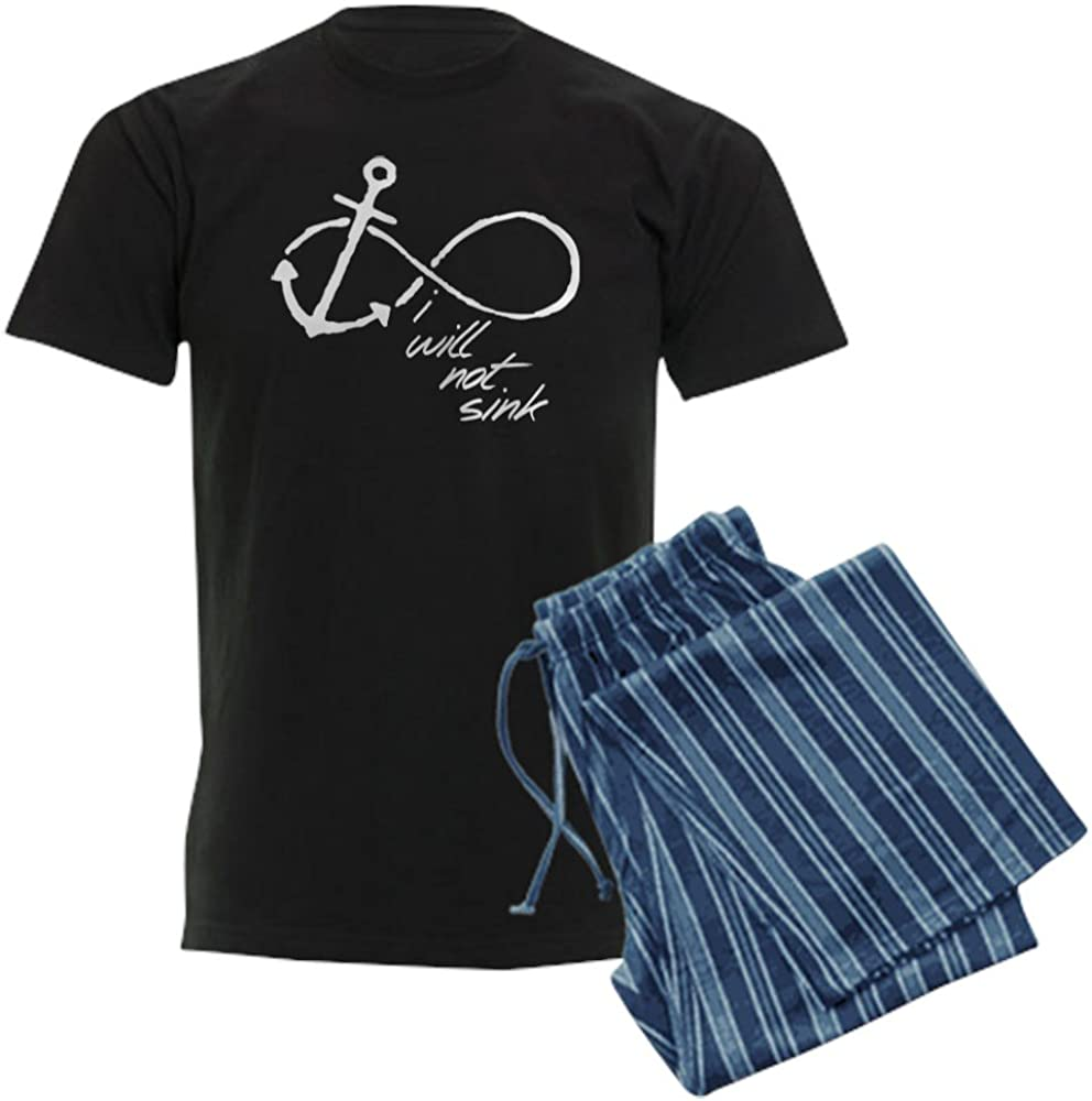 CafePress Infinity Anchor Max 61% OFF - Refuse Pajama to Sink Outlet ☆ Free Shipping Set Men's
