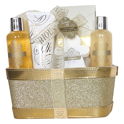 Gloss! Corbeille de Bain Paillette, Coffret Cadeau-Coffret de bain