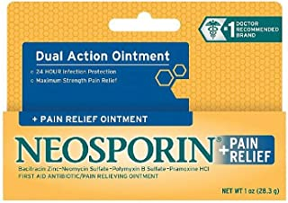 antibiotic for burns by Neosporin