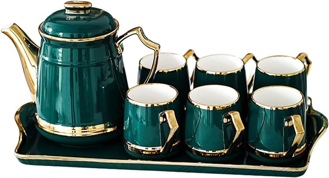 MQQ Nordic Coffee Pot Fashion Teapo Set,Ceramic Material,1 Tea Special price for a limited time